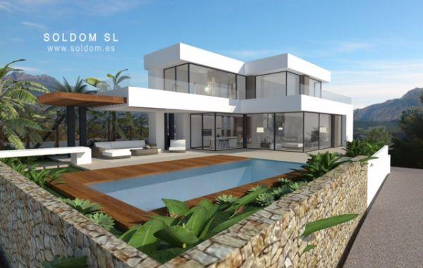 Villa obra nueva