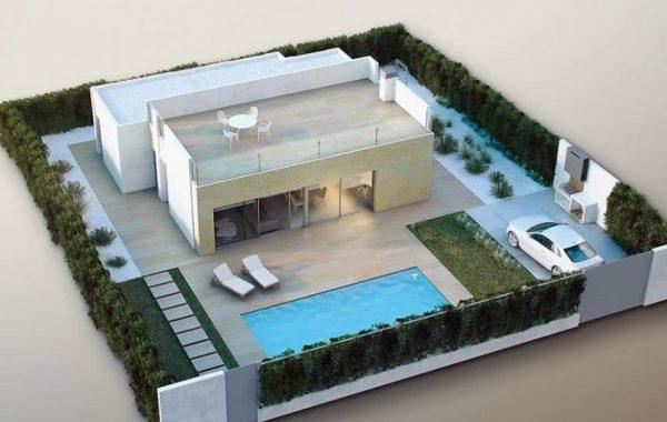Villa nueva de la constructora