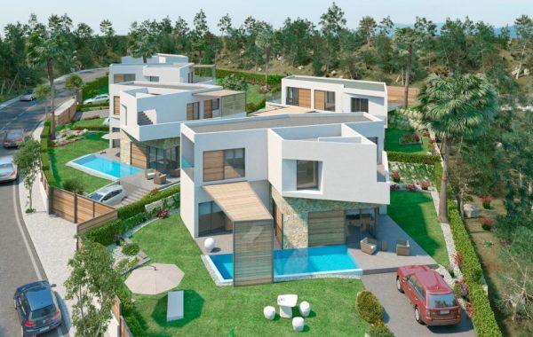 Современный дом в стиле хай-тек